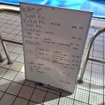 Wednesday, 3rd June 2015 - Endurance Swim Session