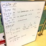 Tuesday, 30th June 2015 - Endurance Swim Session