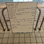 Wednesday, 22 July 2015 - Endurance Swim Session