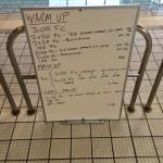 Wednesday, 22 July 2015 - Endurance Swim Session