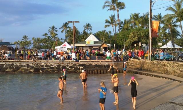 Kona Swim Practice