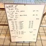 Wednesday, 30th September 2015 - Endurance Swim Session