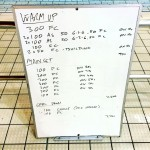 Wednesday, 14th October 2015 - Endurance Swim Session