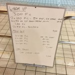 Wednesday, 25th November 2015 - Swim Session