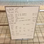 Wednesday, 2nd December 2015 - Swim Session