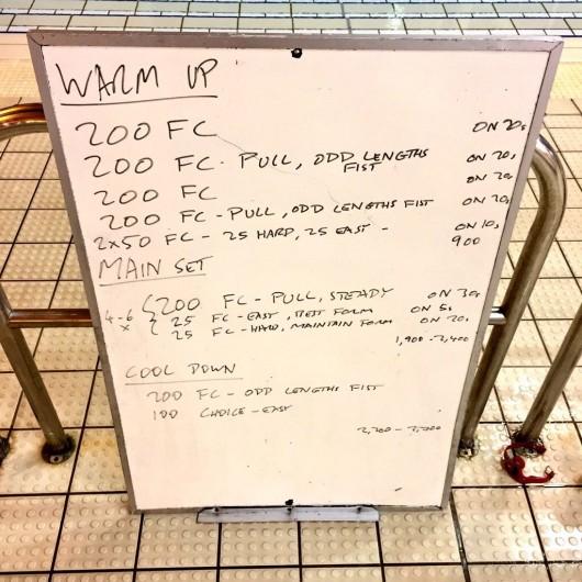 Wednesday, 27th January 2016 - Swim Session
