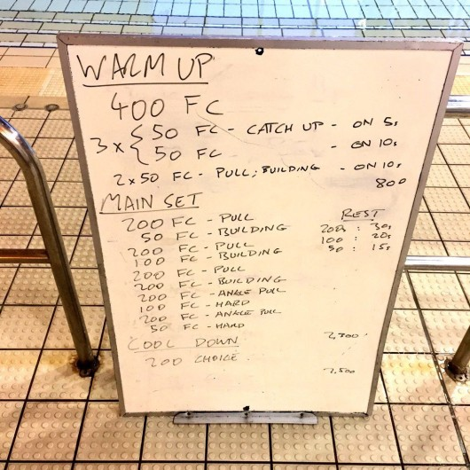 Wednesday, 10th February 2016 - Swim Session