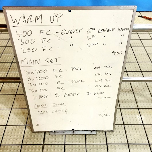 Wednesday, 17th February 2016 - Swim Session