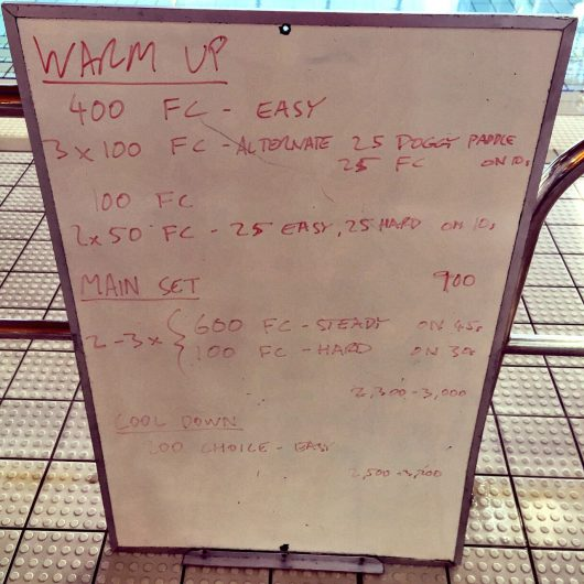 Wednesday, 27th April 2016 - Swim Session