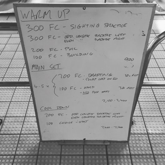 Wednesday, 4th May 2016 - Swim Session