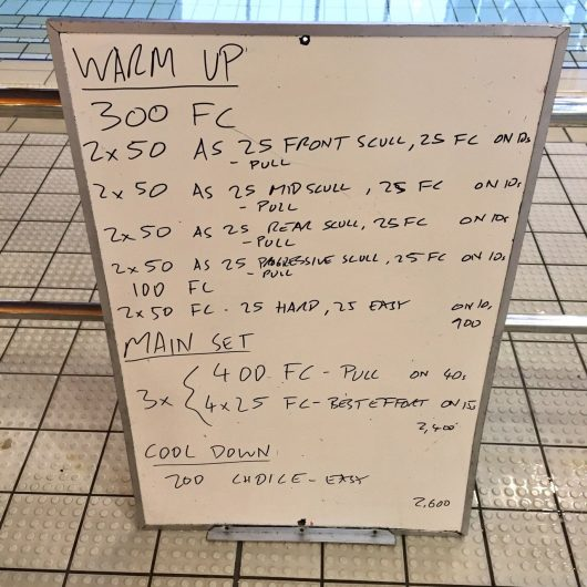 Wednesday, 25th May 2016 - BAD Tri Swim Session