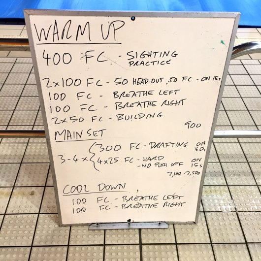 Wednesday, 1st June 2016 - Swim Session