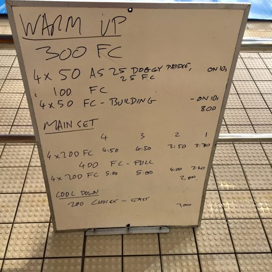 Wednesday, 15th June 2016 - Swim Session