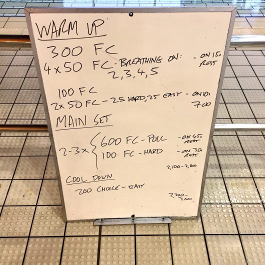 Wednesday, 27th July 2016 - Triathlon Swim Session