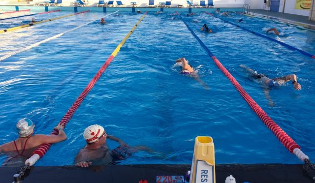 Lanzarote Training Camp Swim