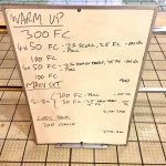 Wednesday, 14th September 2016 - Triathlon Swim Session