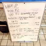 Wednesday, 21st September 2016 - Triathlon Swim Session