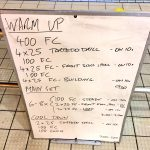 Wednesday, 2nd November 2016 - Triathlon Swim Session
