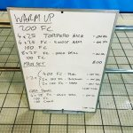 Wednesday, 18th January 2017 - Triathlon Swim Session