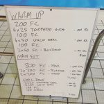 Wednesday, 25th January 2017 - Triathlon Swim Session