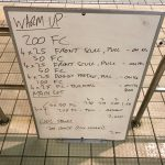 Wednesday, 1st February 2017 - Triathlon Swim Session