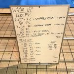 Wednesday, 1st March 2017 - Triathlon Swim Session