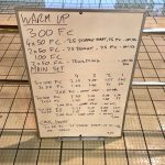 Wednesday, 15th March 2017 - Triathlon Swim Session