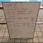 Wednesday, 26th April 2017 - Triathlon Swim Session