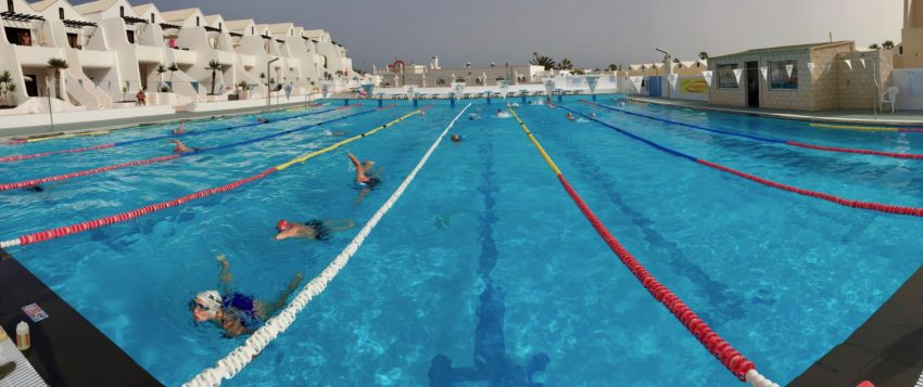 Lanzarote Training Camp Swim Sessions