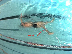 Swim Technique - Wide kick