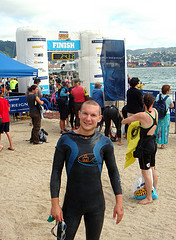 Wellington Ocean Swim - Before