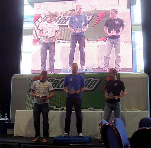 Ironman UK 2009 - 30-34 Age Group Podium