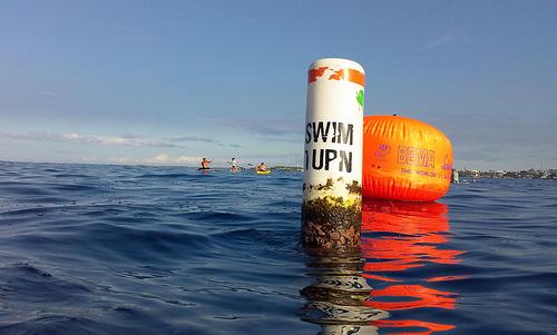 The Swim Turn Point