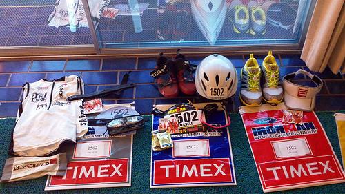 Race Kit all ready